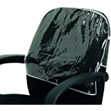 Betty Dain Deluxe Chair Back Cover, Round, Clear