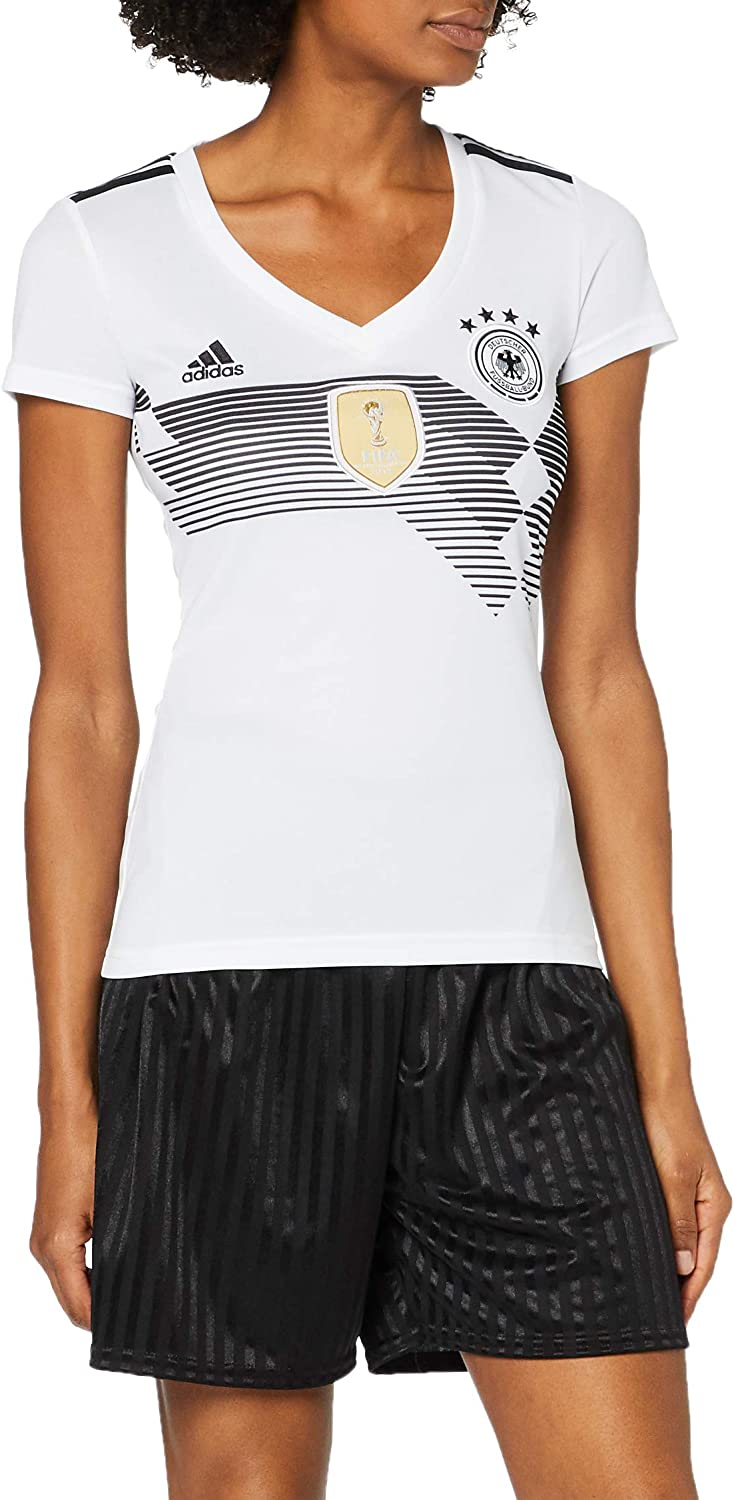 adidas Germany Home Women's Jersey World Cup Russia 2018