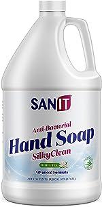 Sanit Silky Clean Antibacterial Liquid Hand Soap Refill - Advanced Formula
