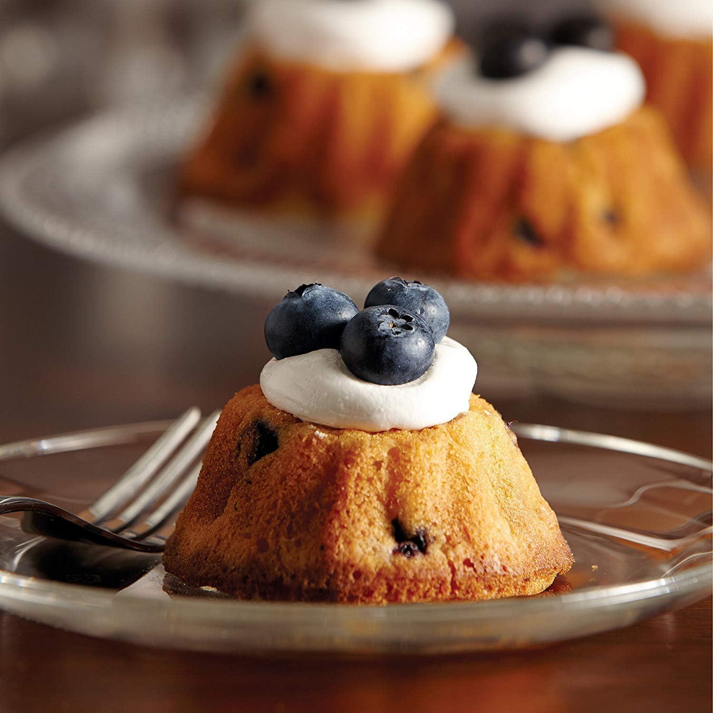 Brownies Kuchen LFGB Zertifiziert BPA-frei Silikon Gugelhupf Kuchenform f/ür Cupcakes Ecoki Mini Gugelhupfform aus Silikon f/ür 20 Gugelhupf Pudding Antihaft /& Leicht zu Reinigen MEHRWEG /…