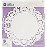 Wilton 2104-90212 6 Count Grease Proof Doilies, 12-Inch, White