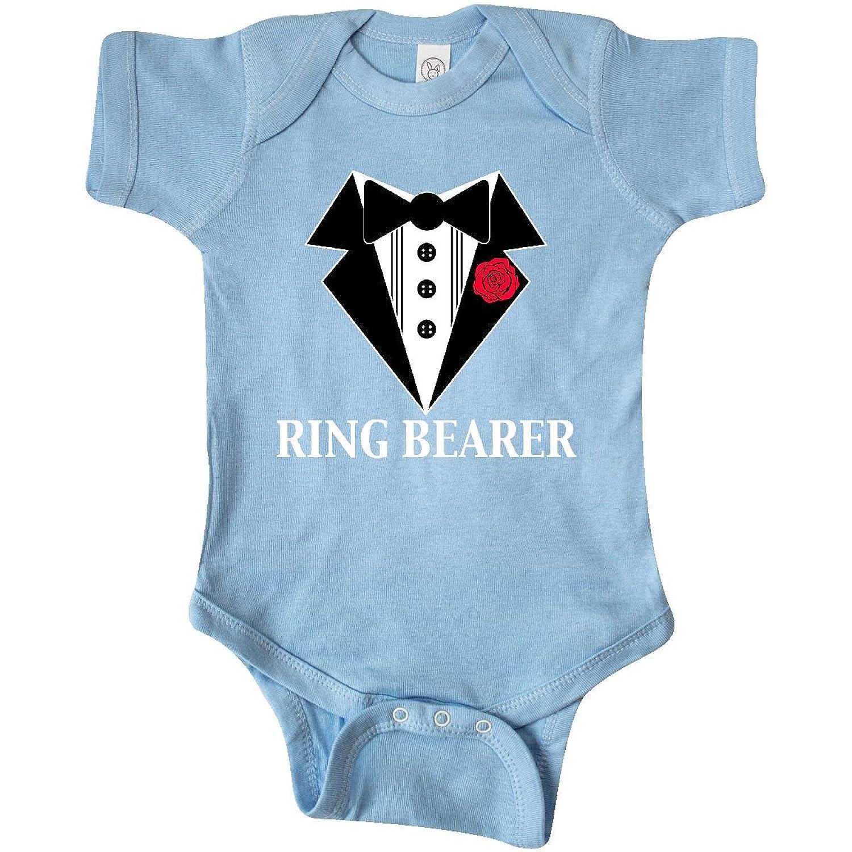 Amazon.com: inktastic Tuxedo Ring Bearer Infant Creeper: Clothing