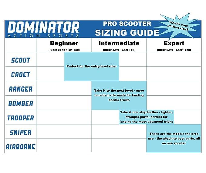 Dominator Bomber Pro Scooter
