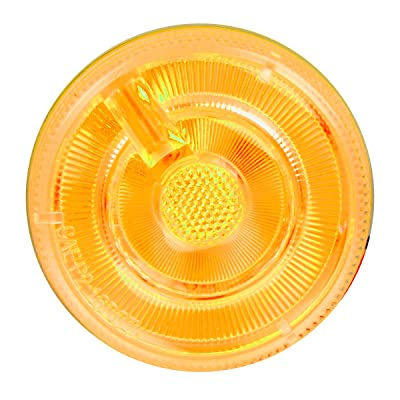 """GG Grand General 75931 Amber/Clear 2"""" Sealed Light (2"""" Prime 5 LED, High/Low 3 Wires): Automotive"""