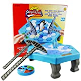Penguin Trap Ice breaker Kids Puzzle Table Knock Game Save Penguin on Ice Block Family Funny Game Penguin Trap Activate Game -BY SH AOBO