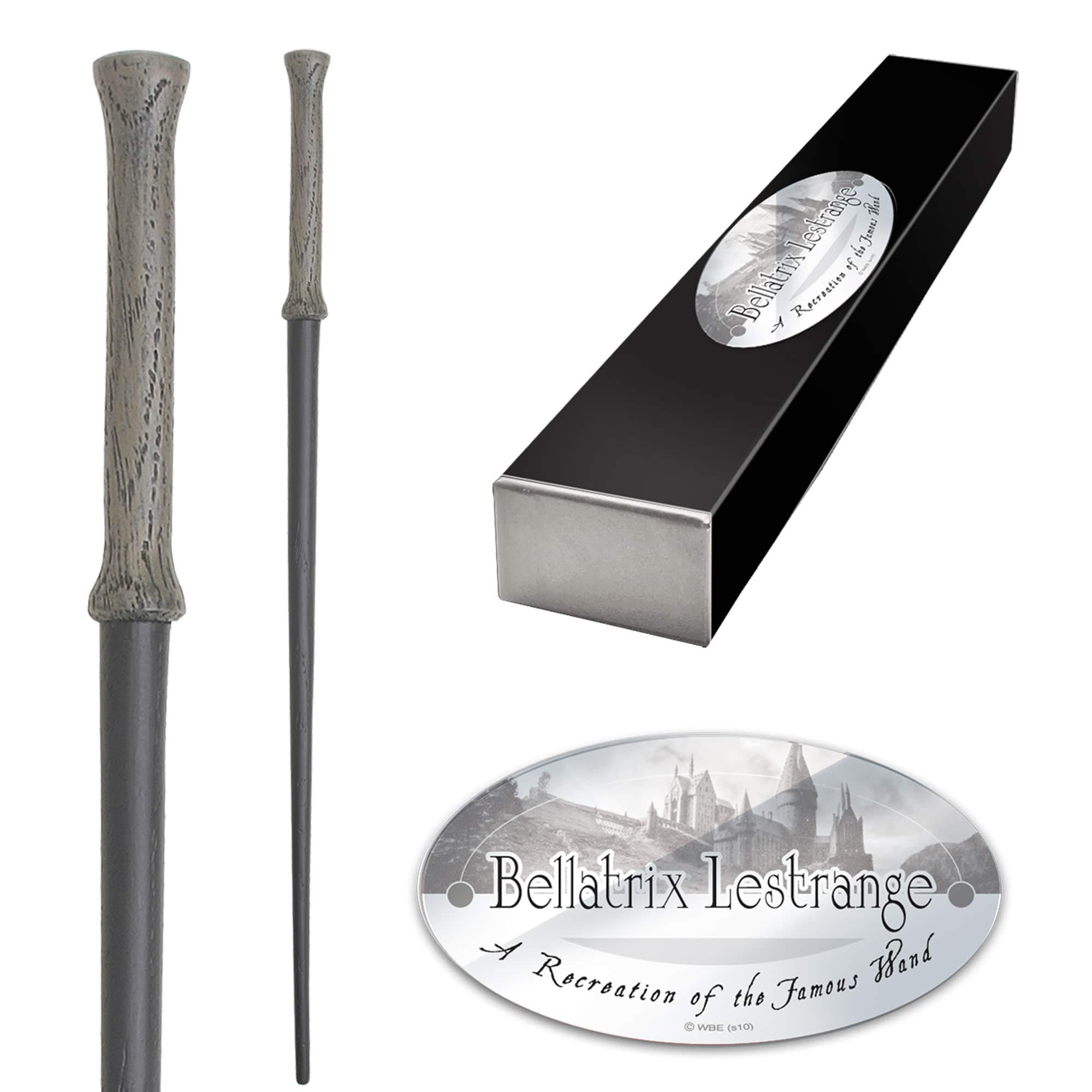 The Noble Collection Bellatrix Lestrange Character Wand.