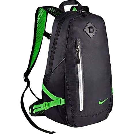 f51d807bb6cf Nike Vapor Lite Running Backpack in Black and Volt Green  Amazon.ca   Luggage   Bags