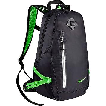 447e449cbc Nike Vapor Lite Backpack Sac à Dos pour Homme Multicolore Negro/Verde  (Black/