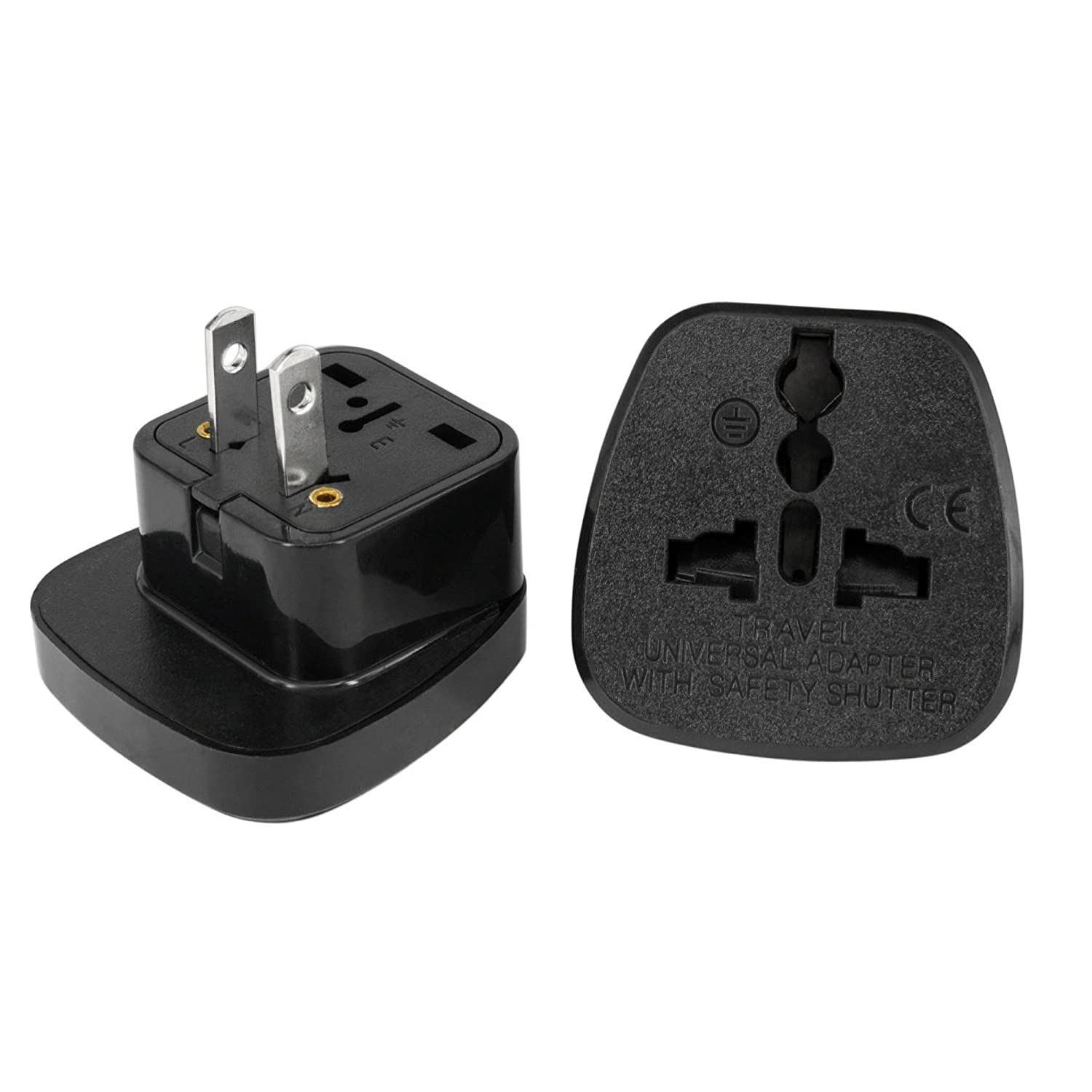 Mexico Plug Adapter by aPlug – Travel Adaptor Mexico – Mexico Plug Adapter UK. Super Reliable | Powerful | Lightweight | Pack of 2. SS-6