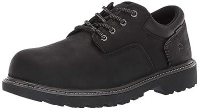 6dfd282bb19 Wolverine Men's Floorhand Oxford Steel Toe Construction Shoe