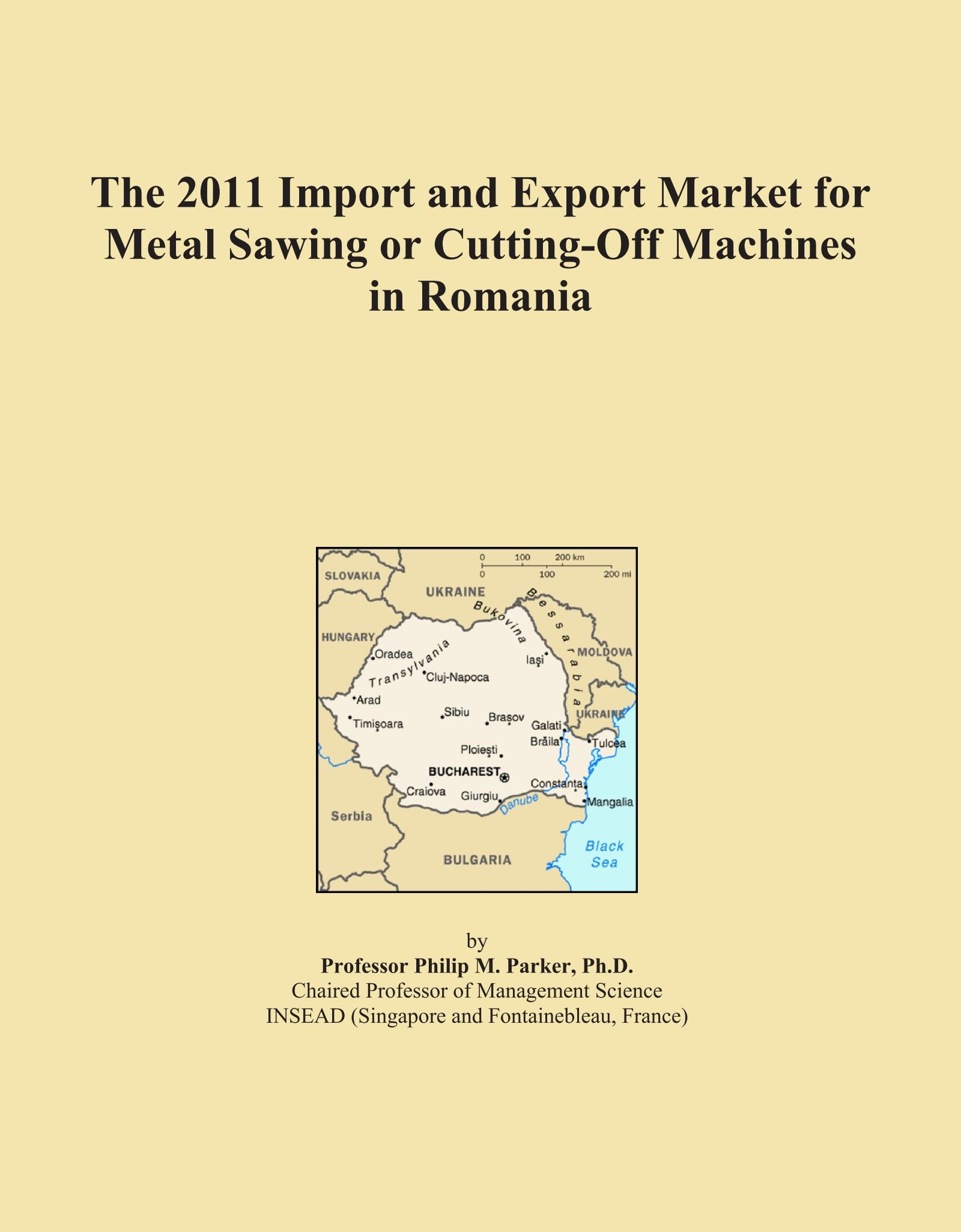 Download The 2011 Import and Export Market for Metal Sawing or Cutting-Off Machines in Romania pdf epub