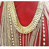 Shlonger Womens Sexy Tassel Vest Belly Chains Beach Bikini Swimsuit Necklace Chains Harness Body Jewelry