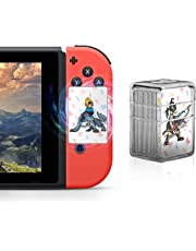 $28 » NFC Tag Game Cards for the Legend of Zelda Breath of the Wild Switch/Wii U - 22pcs Mini Cards with Crystal Case