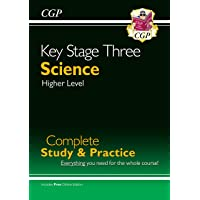 New KS3 Science Complete Study & Practice - Higher (with Online Edition)