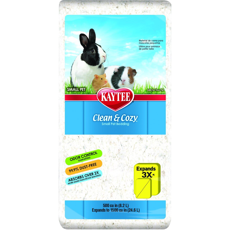 Kaytee Clean & Cozy Bedding, White 24.6 Liters