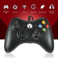 Gamepad, Controlador de Gamepad , controlador de juego USB y controlador con cable Xbox 360 para Windows y Xbox 360