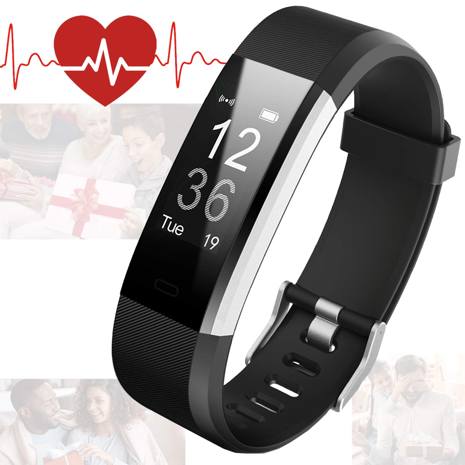 Bicol Fitness Tracker with Heart Rate Monitor for Kids