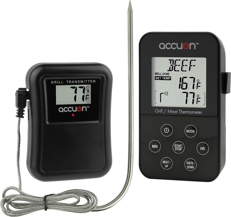 Amazon Accuon Wireless Digital Thermometer Set Remote Bbq