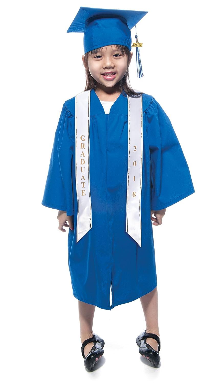 Amazon.com: Preschool Graduation Cap, Gown, Tassel, Sash, Ring ...