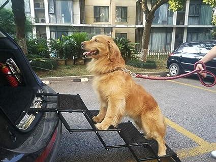 bb355c65b0d Amazon.com   Upgraded Pet Dog Car Step Stairs