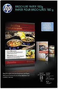 HP CG932A Inkjet Brochure/Flyer Paper, 98 Brightness, 48lb, 11 x 17, White, 150 Shts/Pk