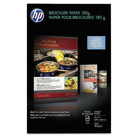 amazon com hp cg932a inkjet brochure flyer paper 98 brightness