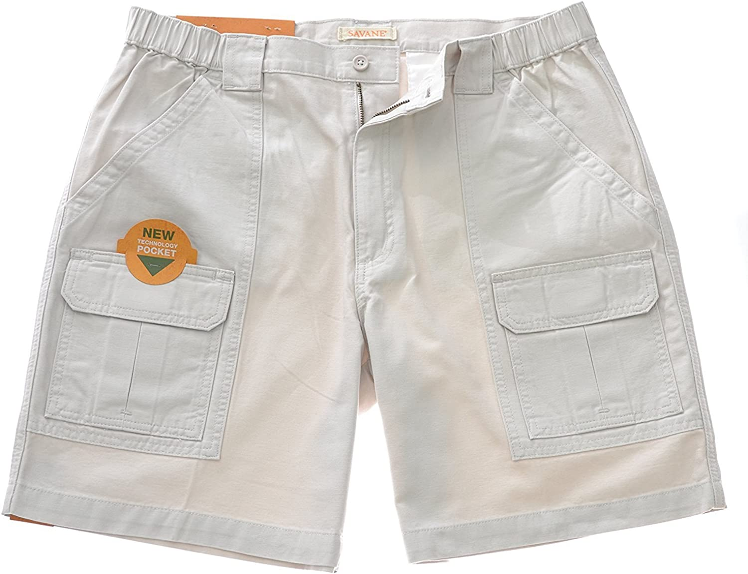 Savane Mens Hiking Cargo Shorts
