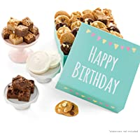 Mrs. Fields Cookies Birthday Nibblers Bite-Sized Cookies & Brownie-Bites Gift Box (44 Count)