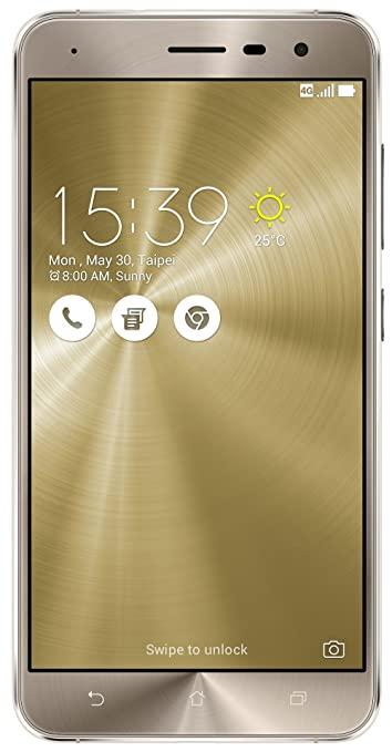 Asus Zenfone 3 (Gold, 32 GB)  (3 GB RAM) for ₹11490 at Amazon