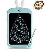 Richgv Tableta de Escritura LCD de 10 Pulgadas, Pizarra de Colores con Bloqueo de Pantalla Tableta de Dibujo Portátil…