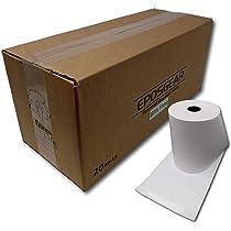 Eposgear 80 x 60 mm Recibos Impresora térmica de sistema de Till Cash Register máquina de papel (20 unidades)