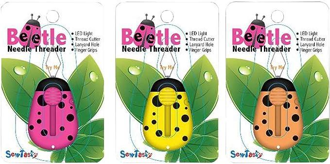 Needle Beetle Needle Threader LED Light Yellow N4236 by Sewgroup