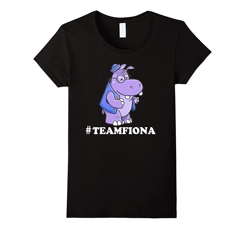 #TeamFiona The Hippo Cute Baby Hippo Fiona T-Shirt