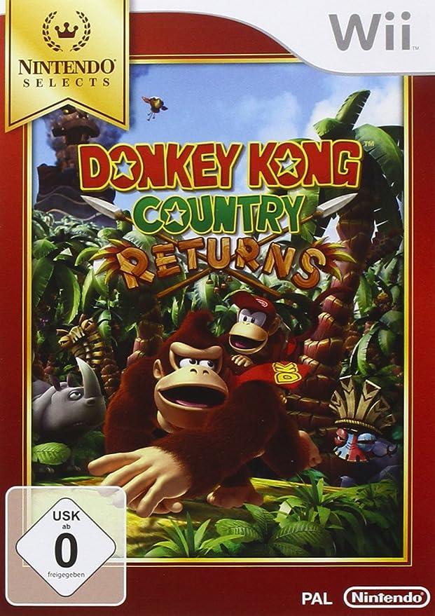 Nintendo Donkey Kong Country Returns, Wii - Juego (Wii): Amazon.es ...