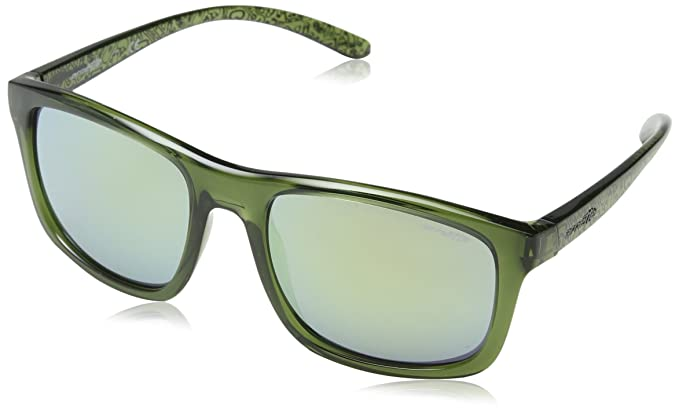 Arnette Complementary, Gafas de Sol para Hombre, Transparente Green, 57
