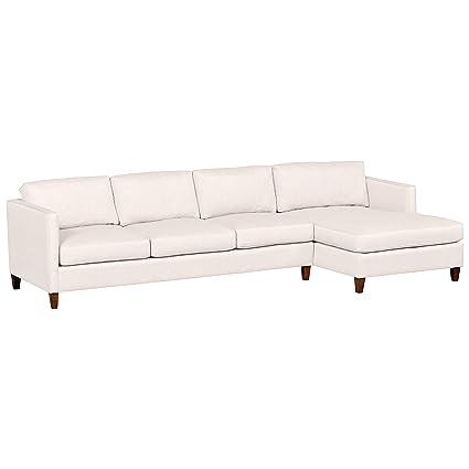 Amazon.com: Stone & Beam Andover Modern Right Chaise Sofa ...