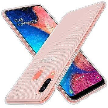 iBetter para Samsung Galaxy A20e Funda, Fina de Silicona Funda, para Samsung Galaxy A20e Smartphone (Blanco)