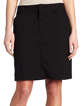 71117f26f5 Dickies Women's 20 Inch Stretch Twill Skirt at Amazon Women's Clothing store:  Khaki Skirts