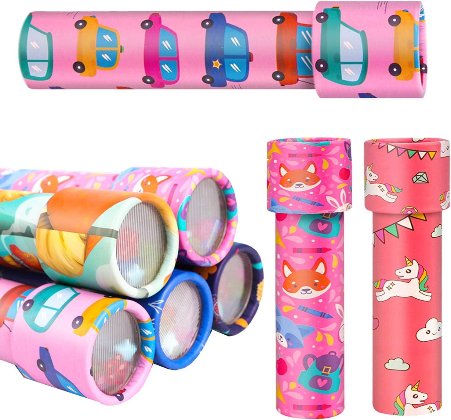 liuer Caleidoscopio, 8PCS Caleidoscopio Juguetes de Papel Clásico Rotativo Caleidoscopios para Favores de Fiesta y Cumpleaños Infantiles (Aleatorio Color Patrón)