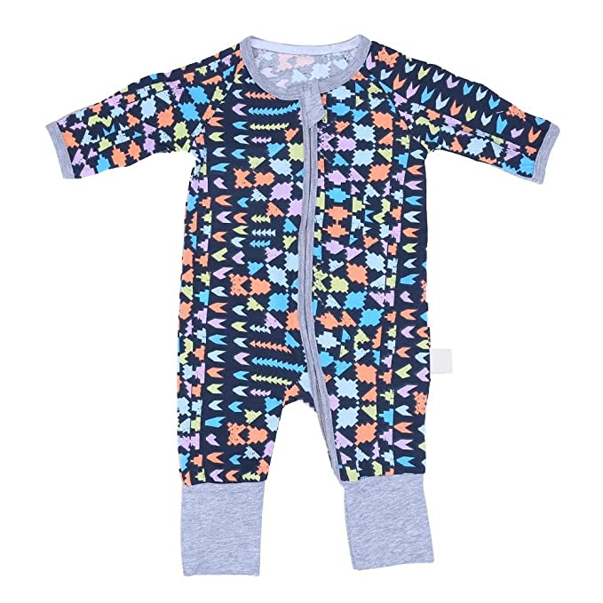 0d3ed6a1e Amazon.com  Everpert Infant Baby Long Sleeve Plaid Pattern Romper ...