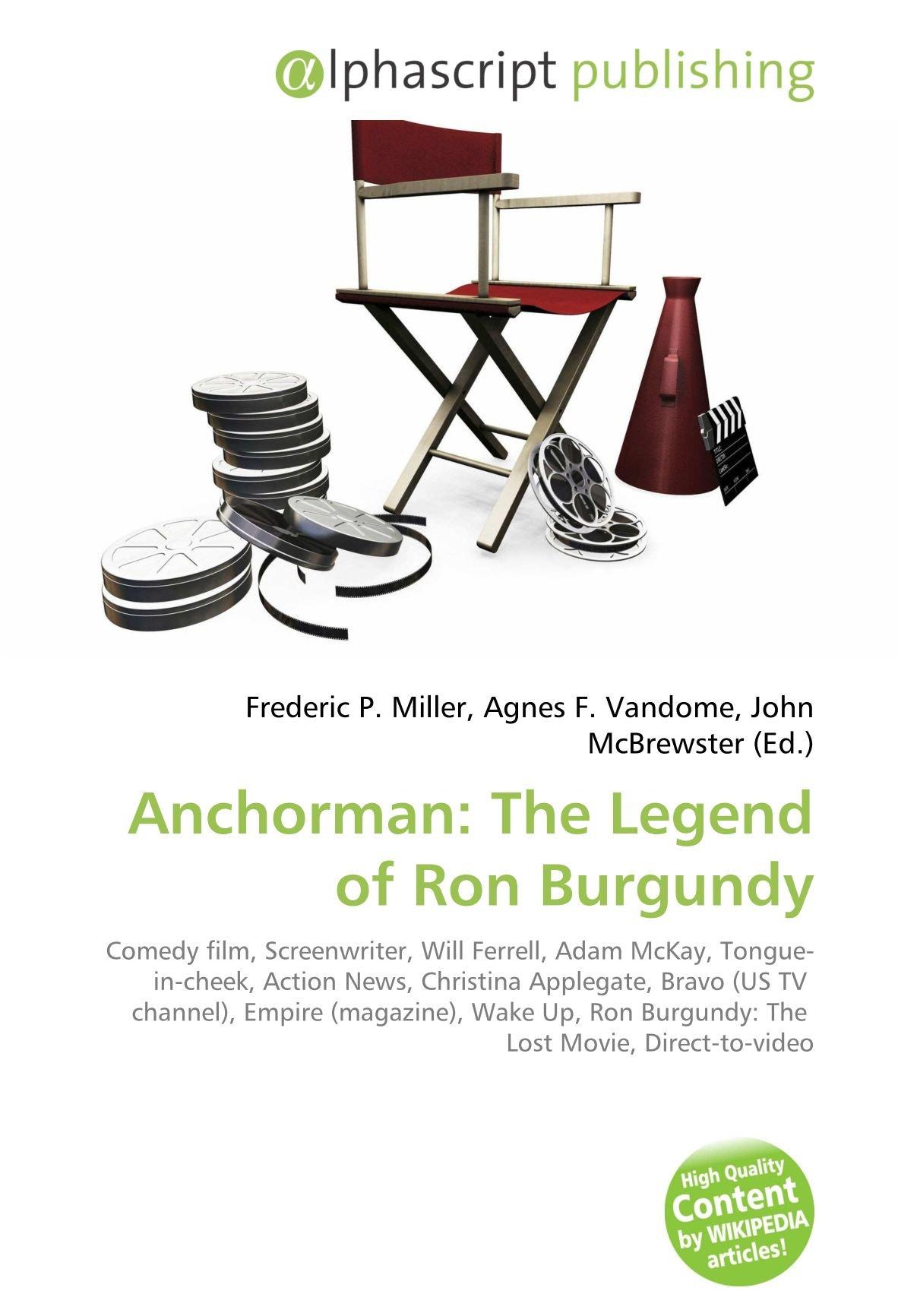 Anchorman: The Legend of Ron Burgundy: Amazon.es: Miller ...
