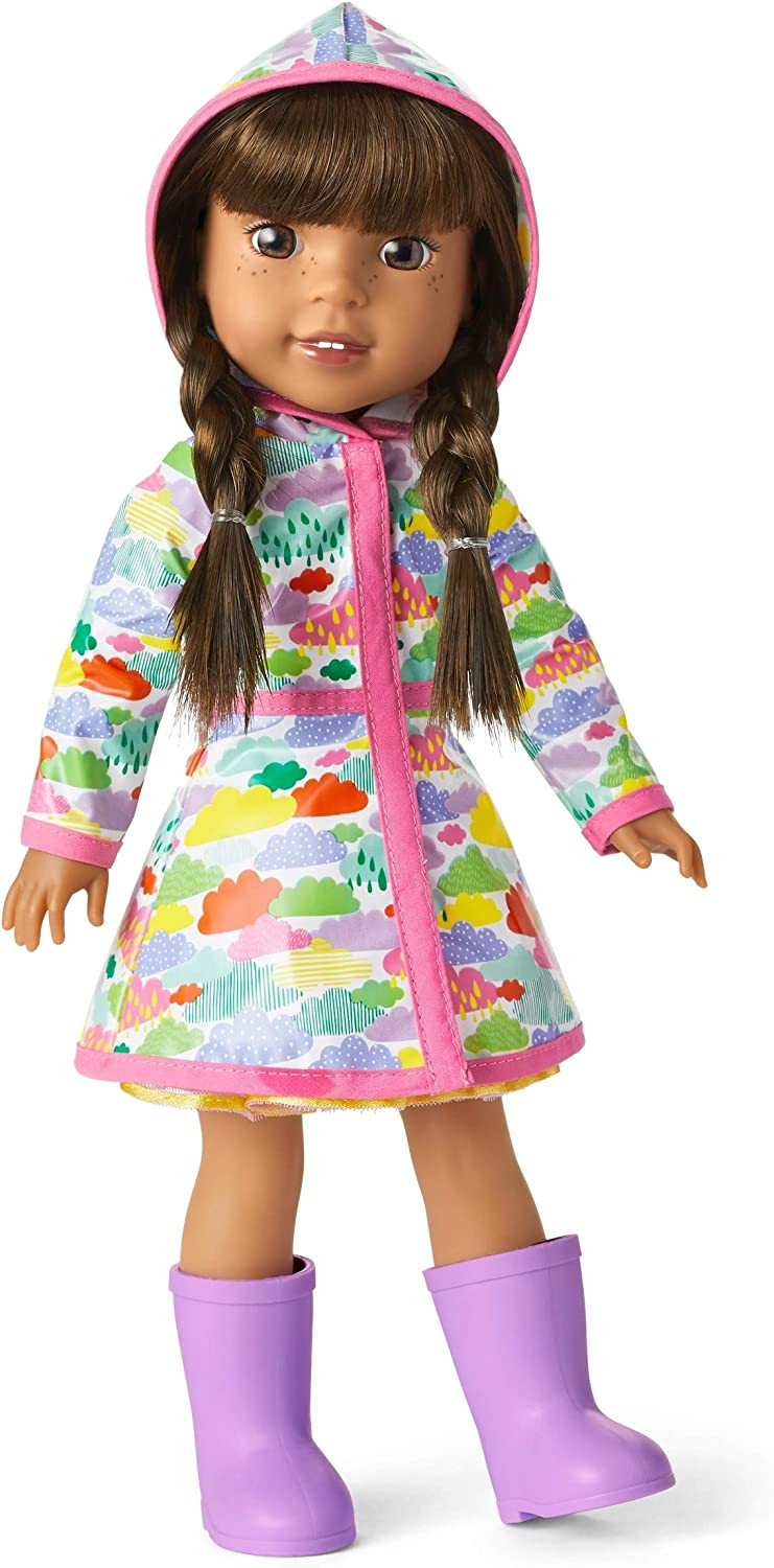"""American Girl WellieWishers Rainy Day Outfit for 14.5/"""" Dolls"""
