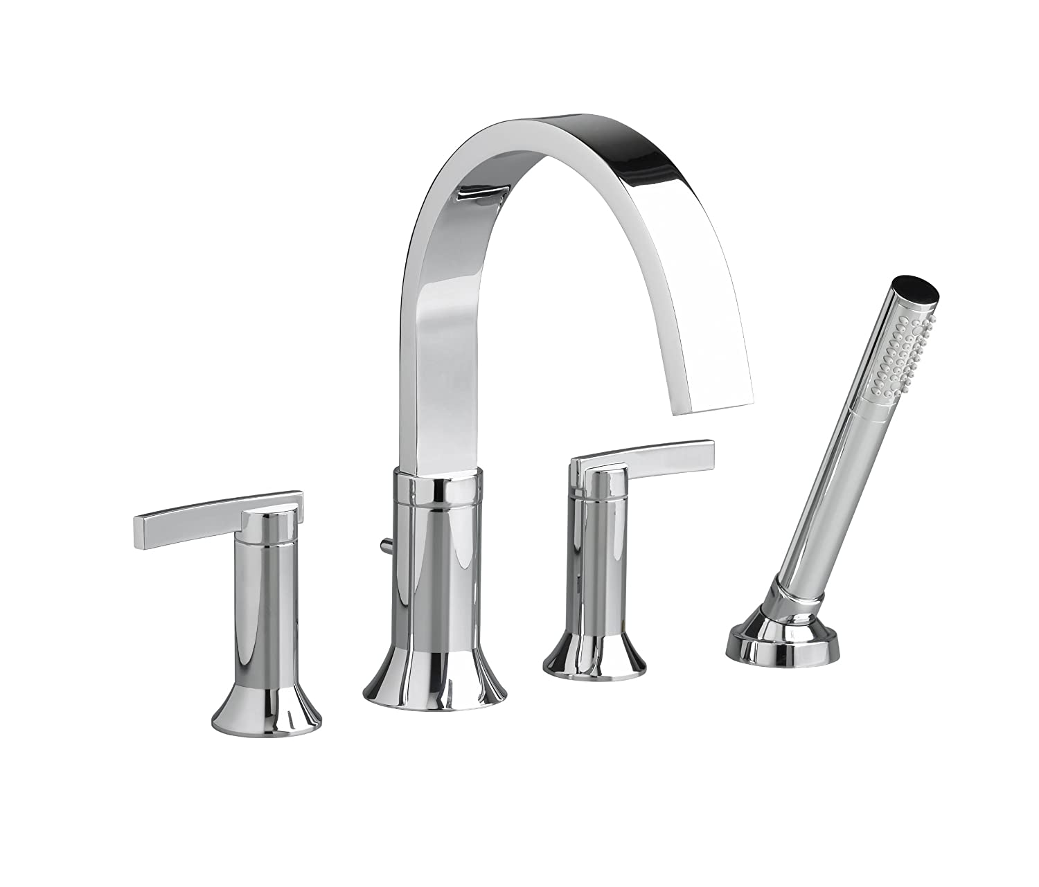 American Standard 7430.901.002 Berwick 2 Lever Handle Deck Mount Tub ...