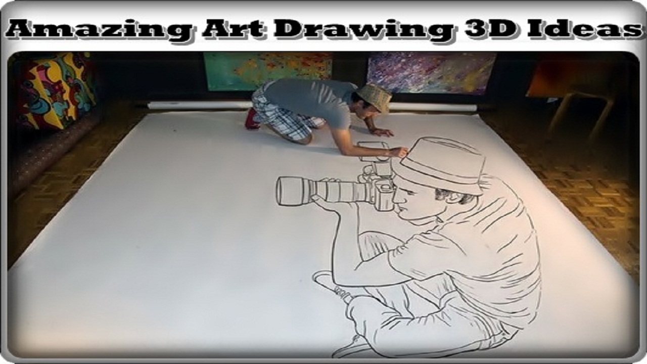 Amazon Com Amazing Art Drawing 3d Ideas