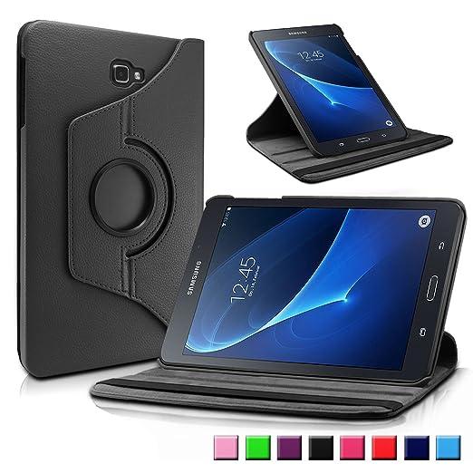 78 opinioni per Samsung Galaxy Tab A 10.1 Custodia Case, Infiland Slim girevole in pelle Smart