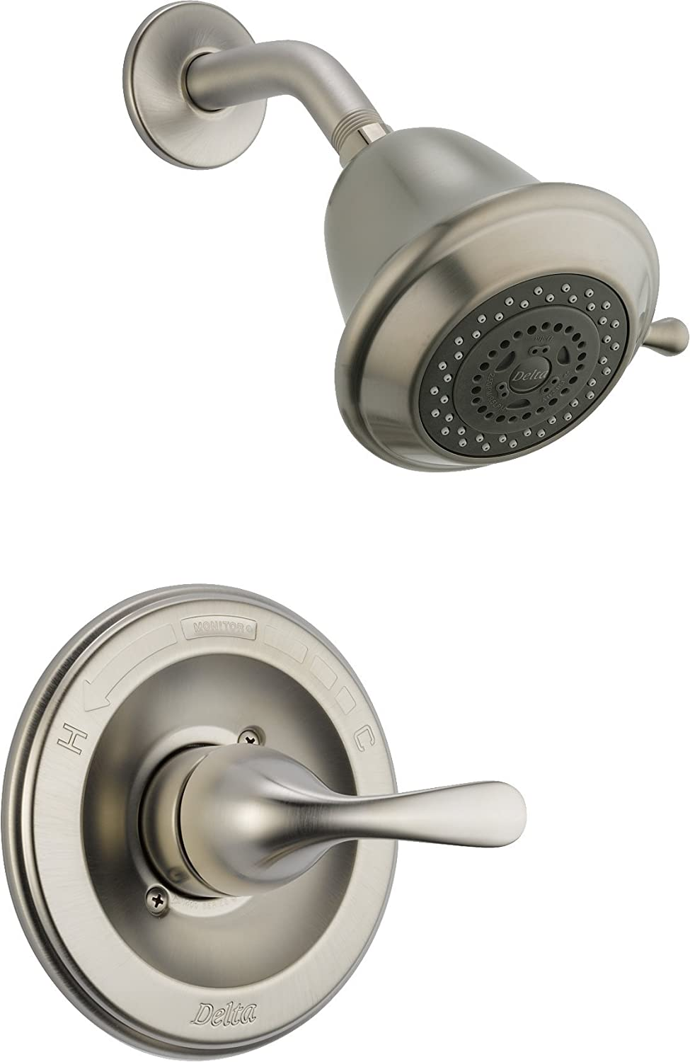 delicate Delta Faucet T13220-SSSHC Monitor 13 Series Shower Trim, Stainless