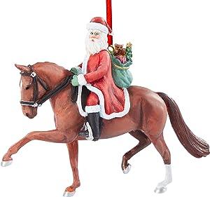 Breyer Horses 2020 Holiday Collection   Dressage Santa Ornament   Model #700653