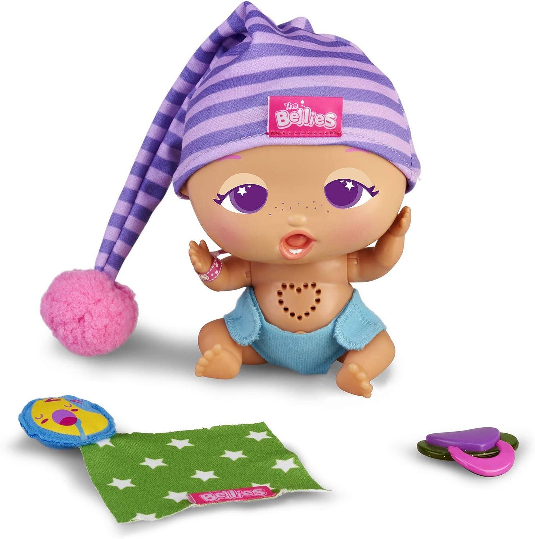 The Bellies - Sleepy Guzzz, Muñeco para Niños y Niñas a Partir de 3 Años, Multicolor, (Famosa 700015316)