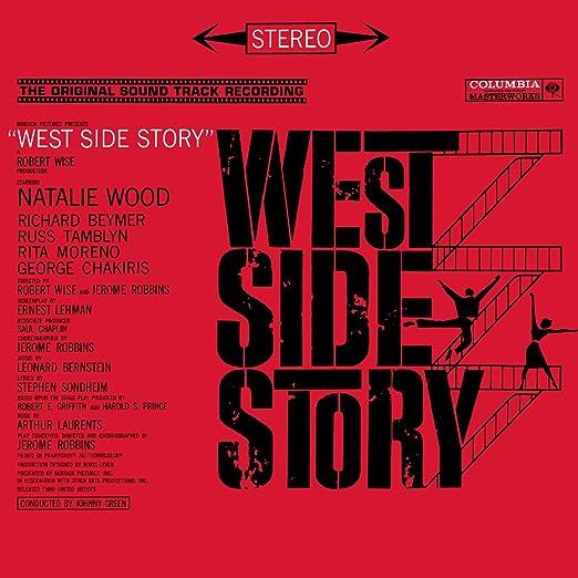 Leonard Bernstein Stephen Sondheim Johnny Green Various Artists Russ Tamblyn Marni Nixon Rita Moreno George Chakiris Jim Bryant Betty Wand West Side Story Music