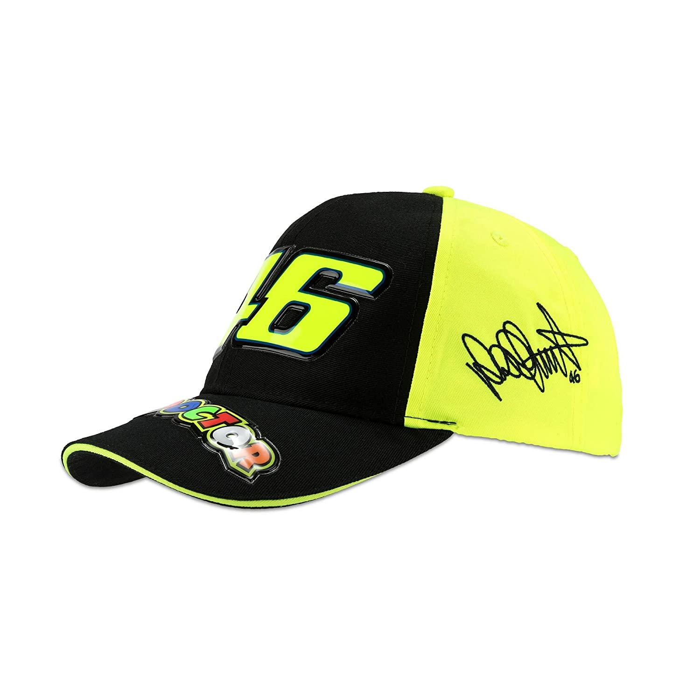 VR46 - VR Unisex Race Kids Cap Black/Yellow, Uni Size: Amazon.es ...